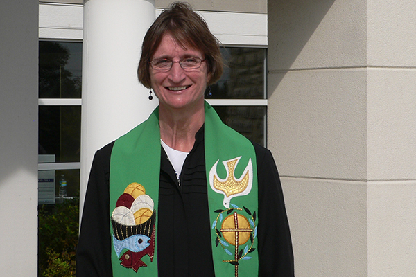 Sigrid Rother is a German pastor serving as minister in a UCC congregation in Ohio.