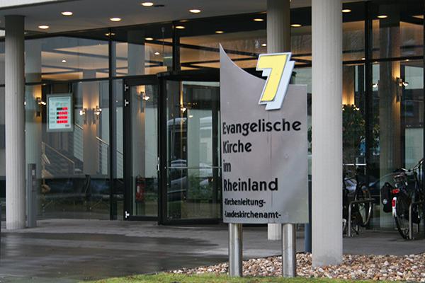 The regional church office (Landeskirchenamt) in Düsseldorf.